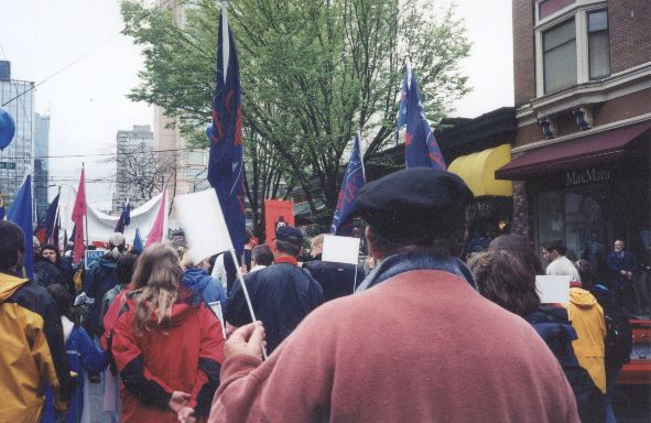 vancouver call for general strike
